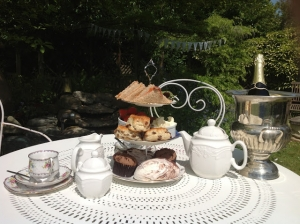 Afternoon Tea in Our Garden